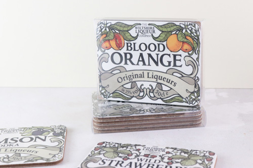 Blood Orange coasters